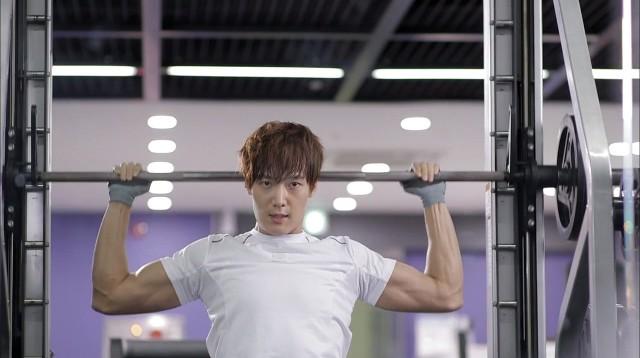 Chang Min biceps