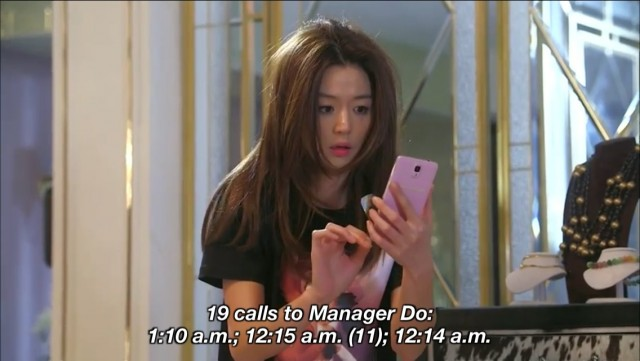 Cheon Song Yi regret