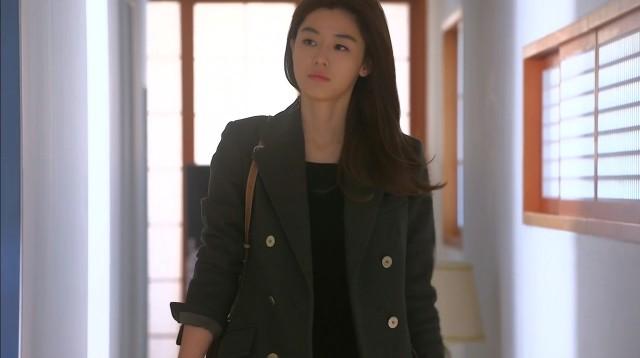 Cheon Song Yi Balmain coat