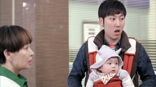 Emergency Couple Kwang Soo and baby 2