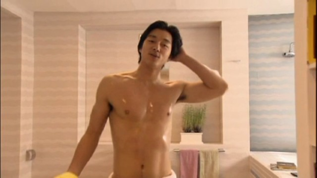 Han Kyul post bath 1