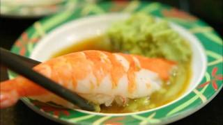 Let's Eat episode 10 ebi sushi