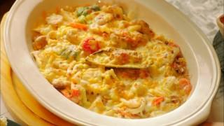 Let's Eat episode 15 seafood gratin