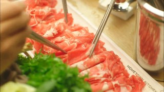 Let's Eat episode 3 shabu shabu meat