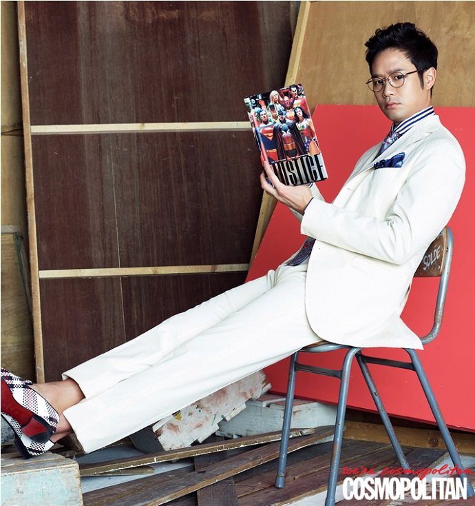 Chun Jung Myung Cosmopolitan March 2015