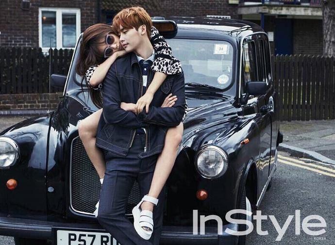 Lee Jong Suk Park Shin Hye In Style Apr 2015