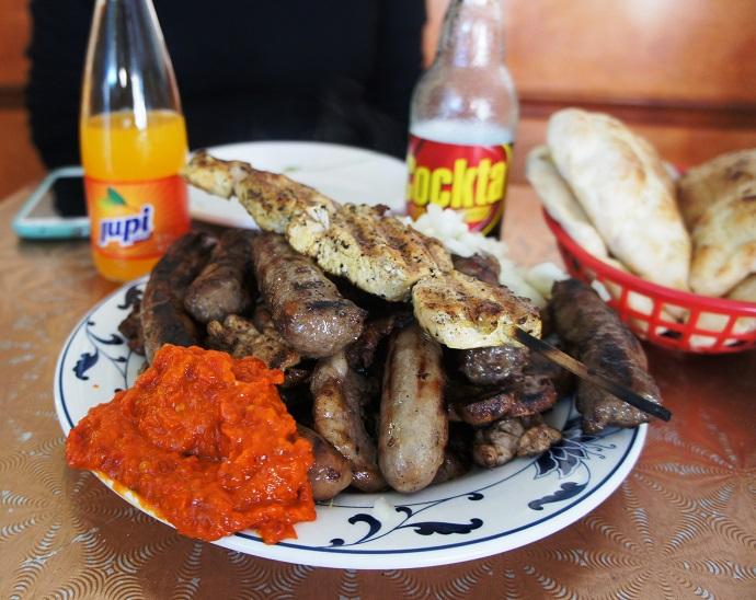 Cevabdzinica Sarajevo meal