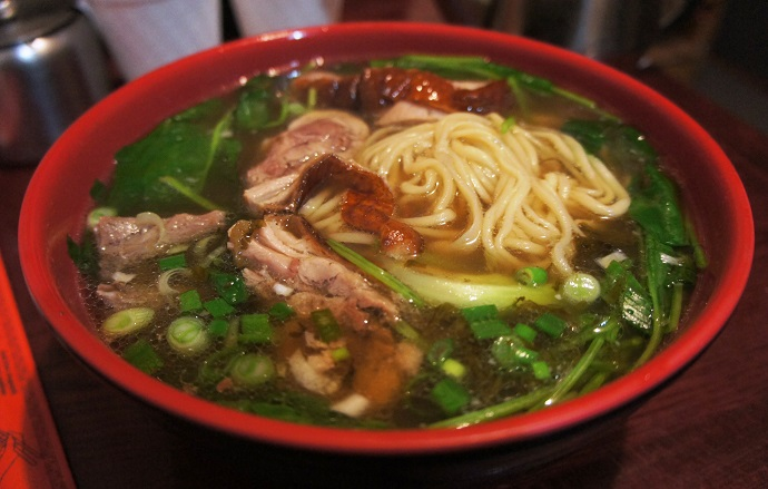 Tasty Hand-Pulled Noodles duck
