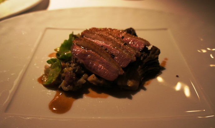 Gramercy Tavern Duck Breast and Smoked Thigh