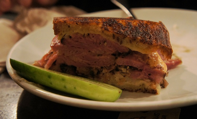 Friedman's Lunch Grilled Pastrami Rueben Sandwich