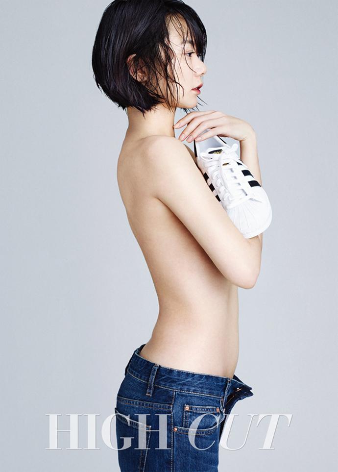 Bae Doo Na topless