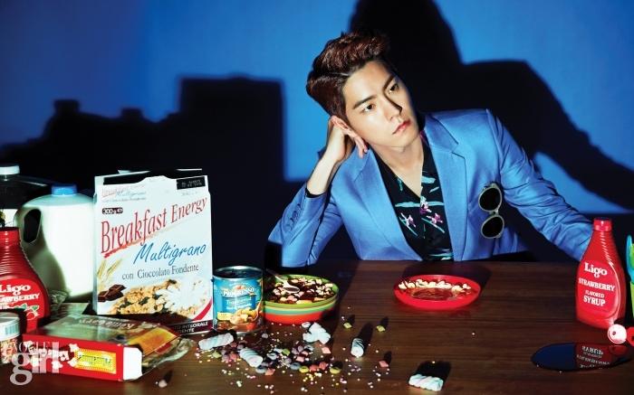 Hong Jong Hyun cereal