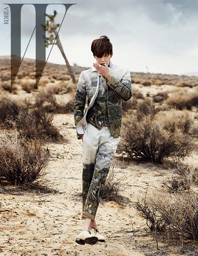 Kim Woo Bin desert