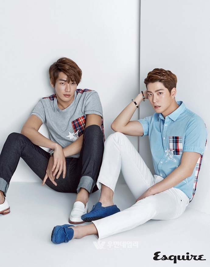 Kim Young Kwang and Hong Jong Hyun