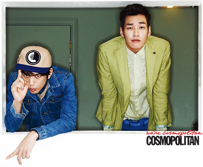 Kim Young Kwang and Sung Joon