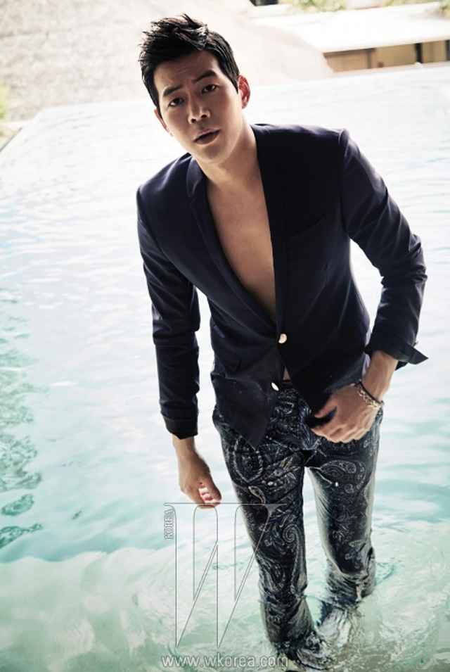 Lee Sang Yoon pool
