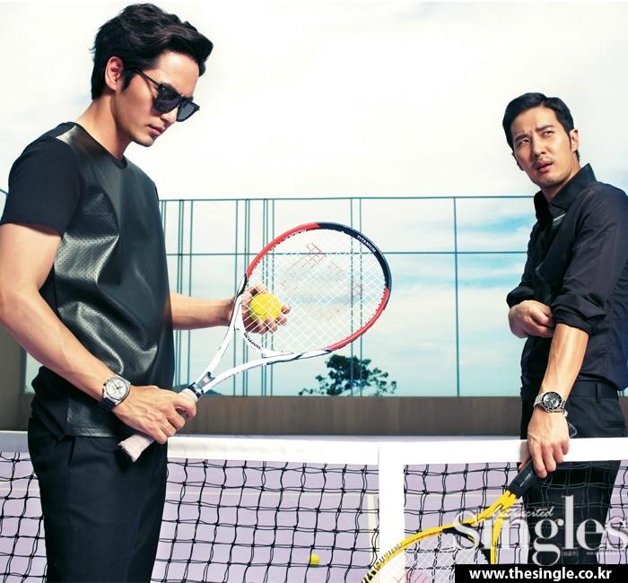 LeeJinWook_KimJiSook_tennis