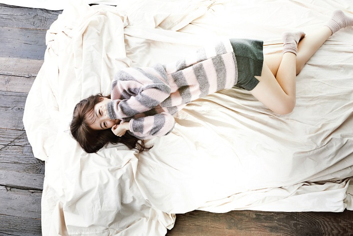 Park Bo Young in bed