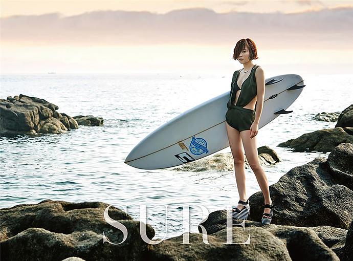 Choi_Kang_Hee_beach