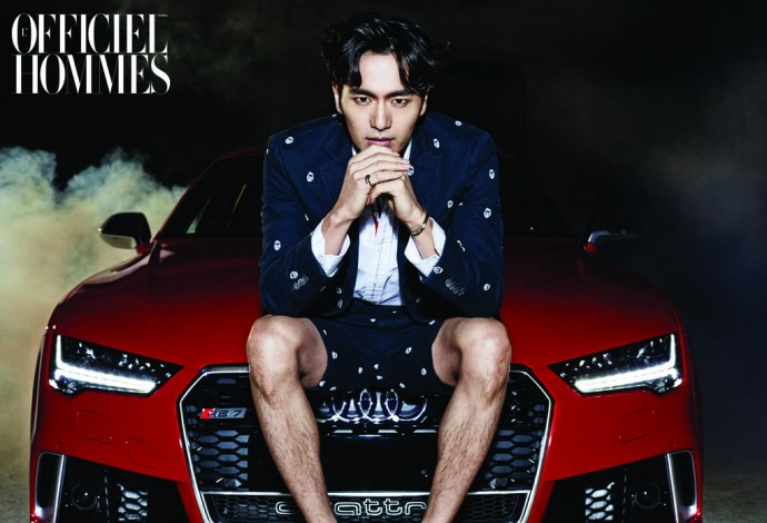 Lee Jin Wook car