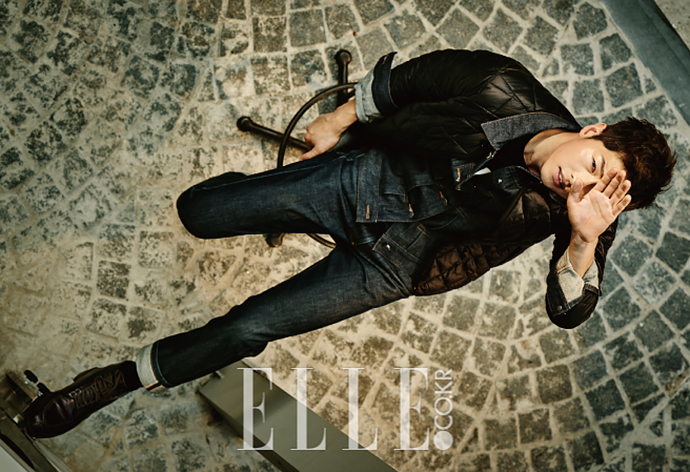 Song Joong Ki Elle