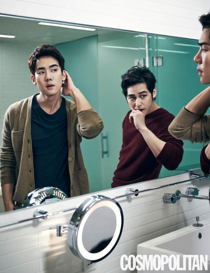 Yoo_Yeon_Seok_Kim_bum_mirror