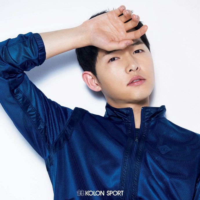 Song Joong Ki Kolon Sport
